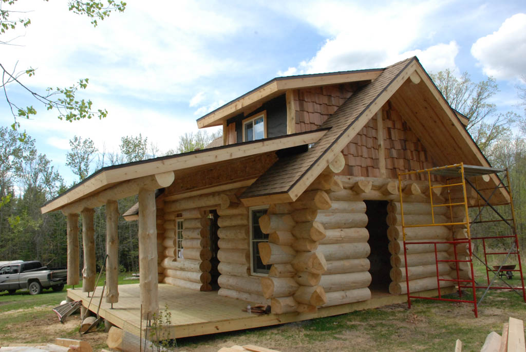 Large log cabin homes joy studio design gallery best for Large log cabin homes