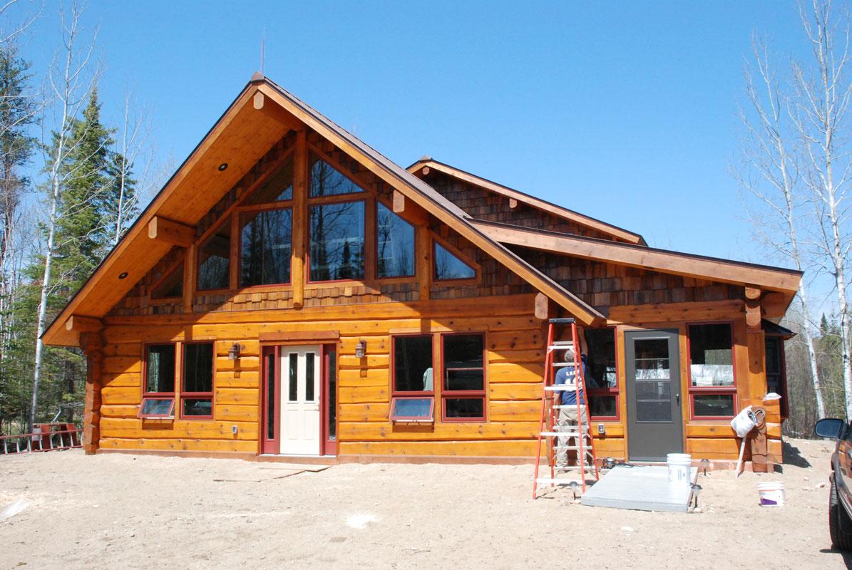 Heim Log Homes Exterior Gallery