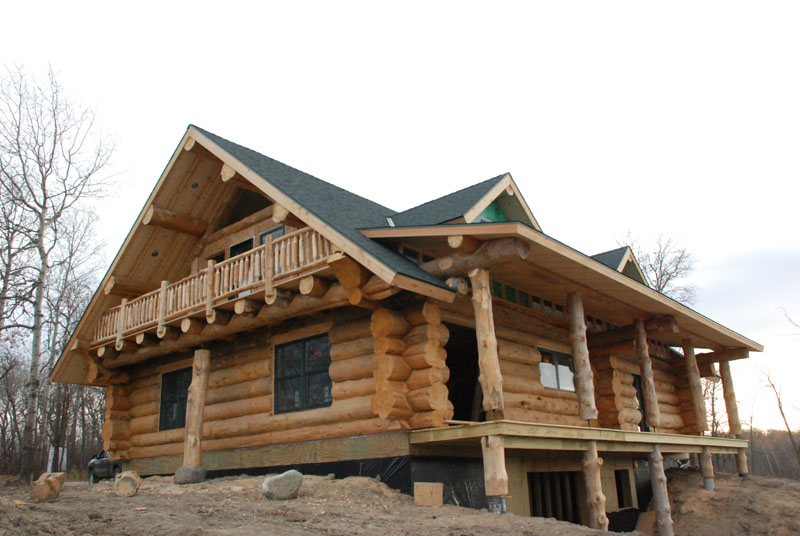 handcrafted heim log homes